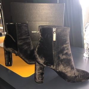 Yves Saint Laurent Loulou Ankle Booties Authentic